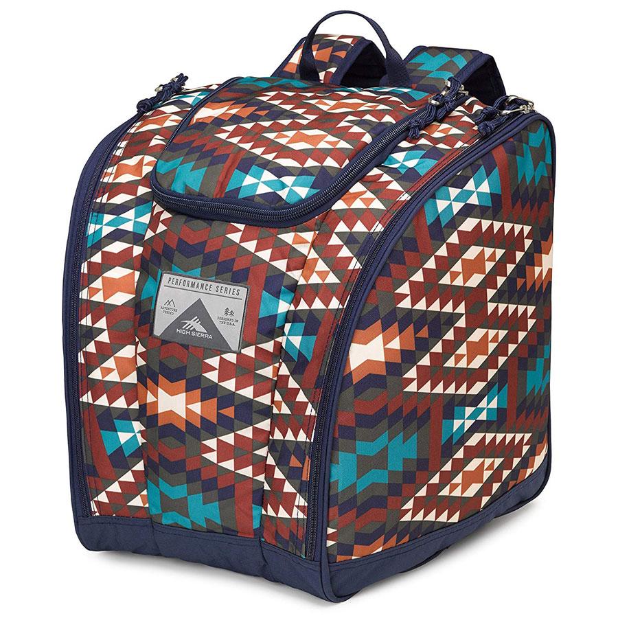 High Sierra Trapezoid Ski Boots Bag