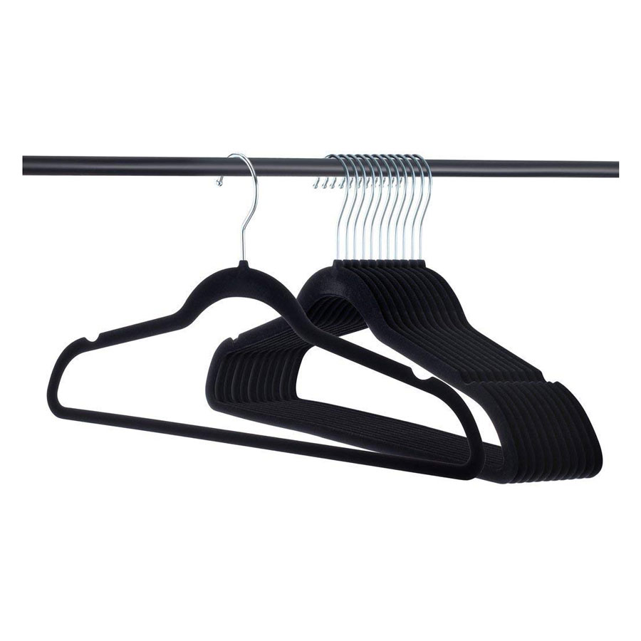 Home-it Premium Velvet Heavy-Duty Clothes Hangers