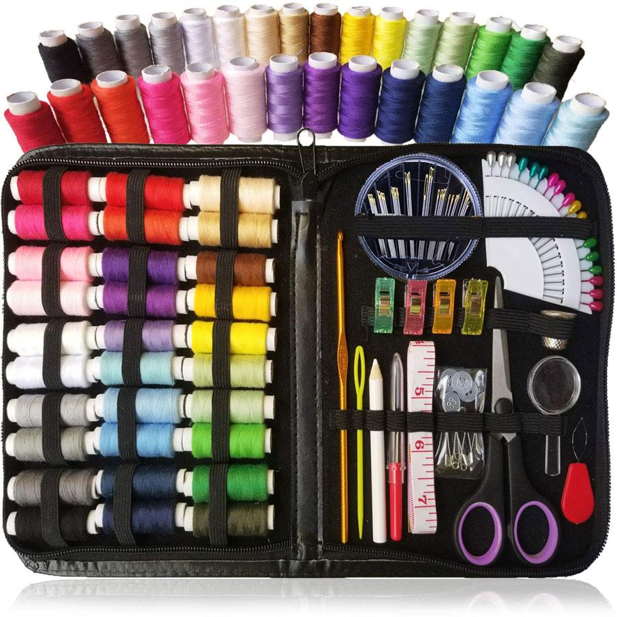 Home & Travel DIY 30 Spools Sewing Kit