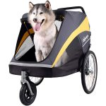 Ibiyaya Large Aluminum Frame Dog Stroller