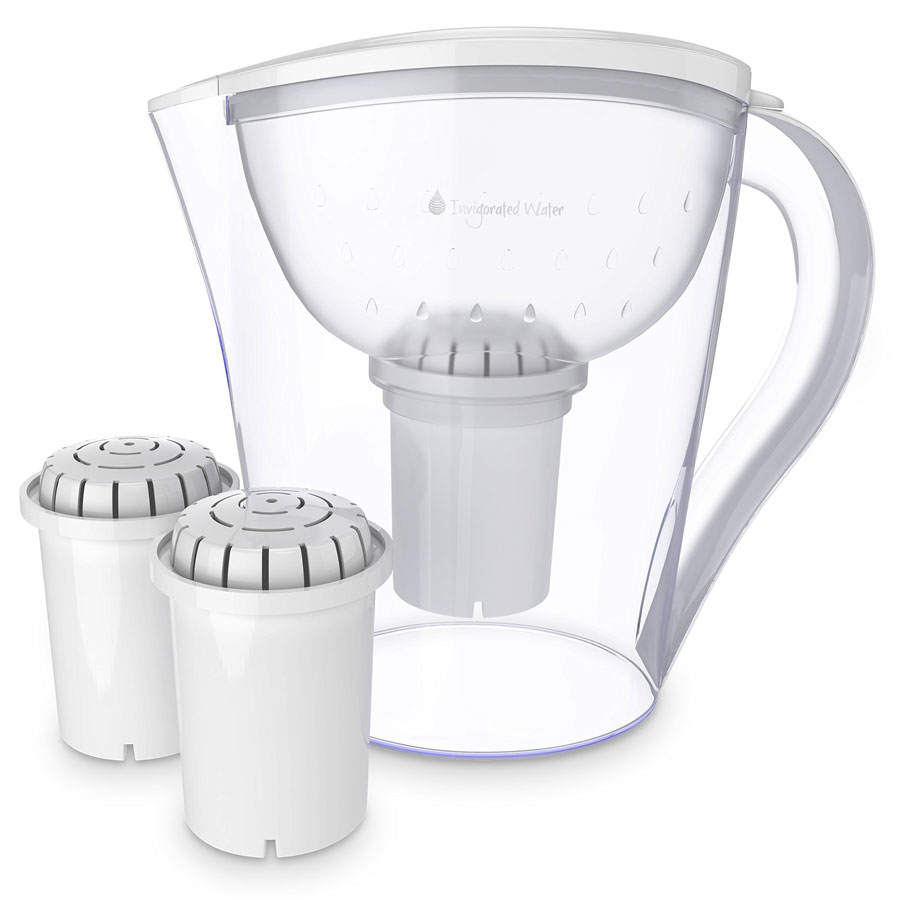 Invigorated Living 10 Cup PH Restore Water Pitcher
