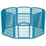 Iris 8-Panel Exercise Containment Dog Playpen