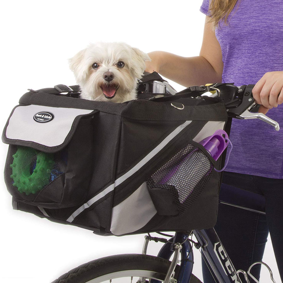 Jack and Dixie Traveler 2-in-1 Dog Bike Carrier