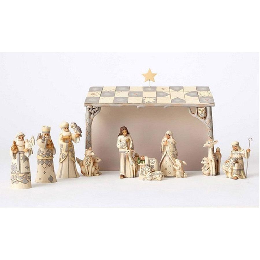 Jim Shore Heartwood Creek 12-Piece Nativity Set