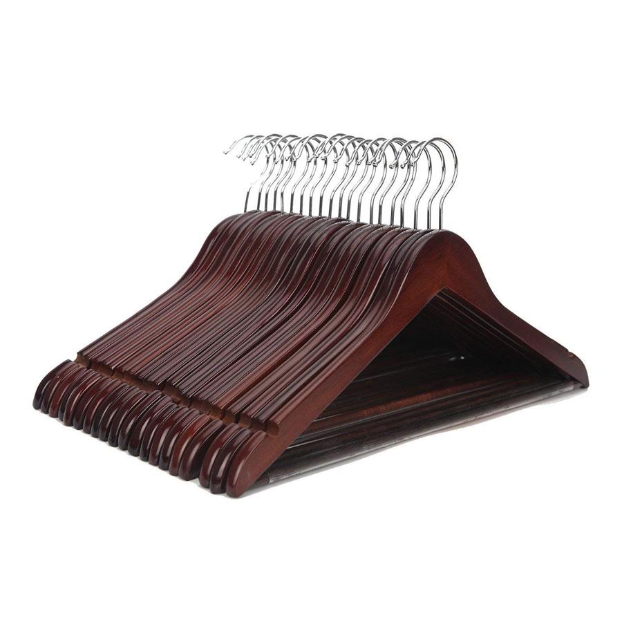 JS Hanger Multifunctional High Grade Wooden Hangers