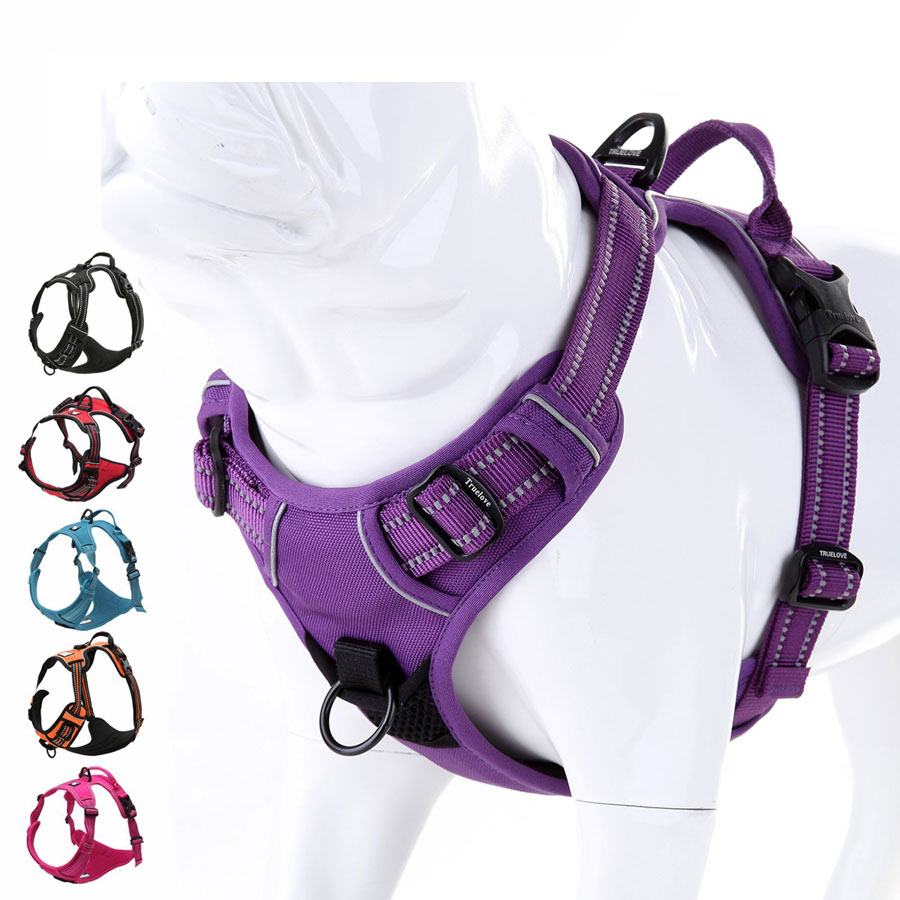 Juxzh Soft Front Reflective No-Pull Dog Harness