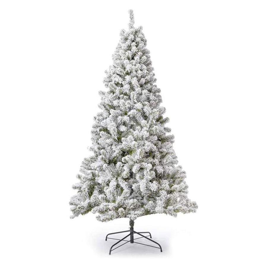 King of Christmas Prince Flock Unlit Christmas Tree