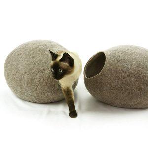 Kivikis Handmade Ecological Sheep Wool Cat Bed