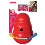Kong Wobbler Treat Dispensing Dog Interactive Toy