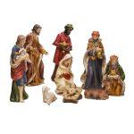 Kurt Adler 9-Piece Porcelain Nativity Set