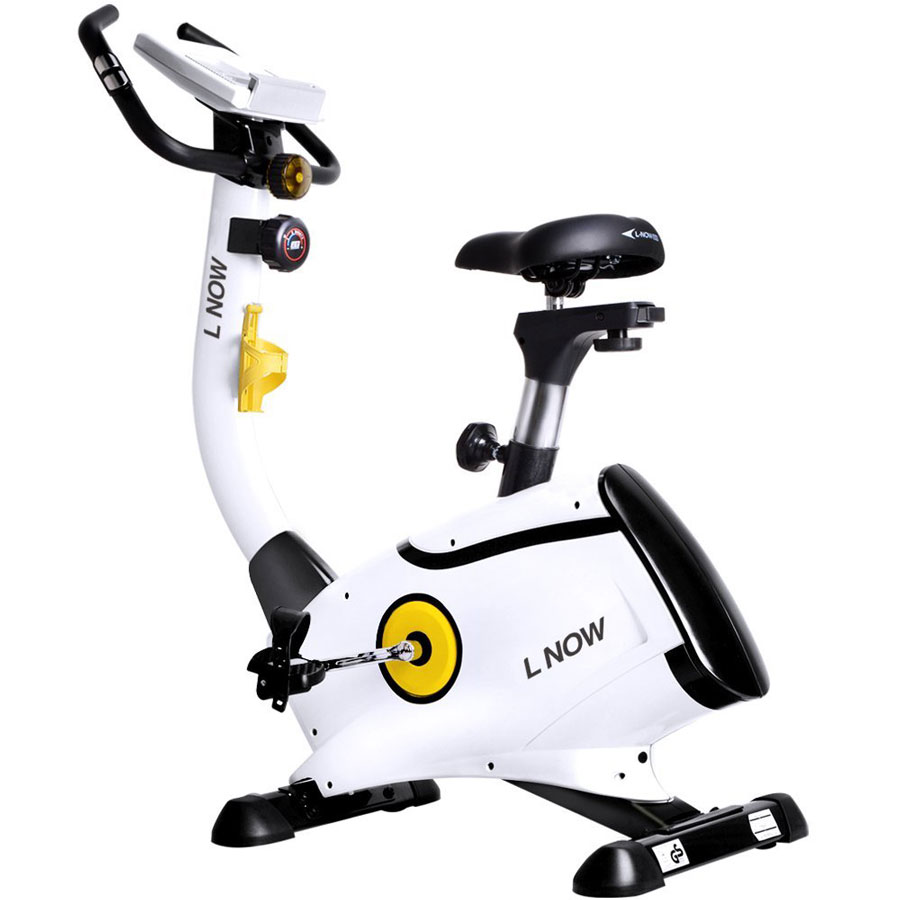 L Now D808 Upright Stationary Exercise Bike