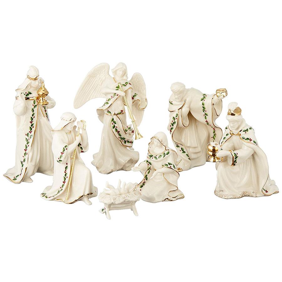 Lenox 7-Piece Holiday Nativity Set