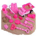 Liberty Imports Pink Princess Castle Beach Toys