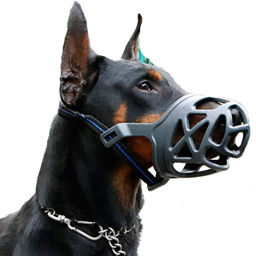Mayerzon XS-to-XL Anti-Biting Cover Dog Muzzle