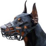 Mayerzon XS-to-XL Breathable Basket Dog Muzzle