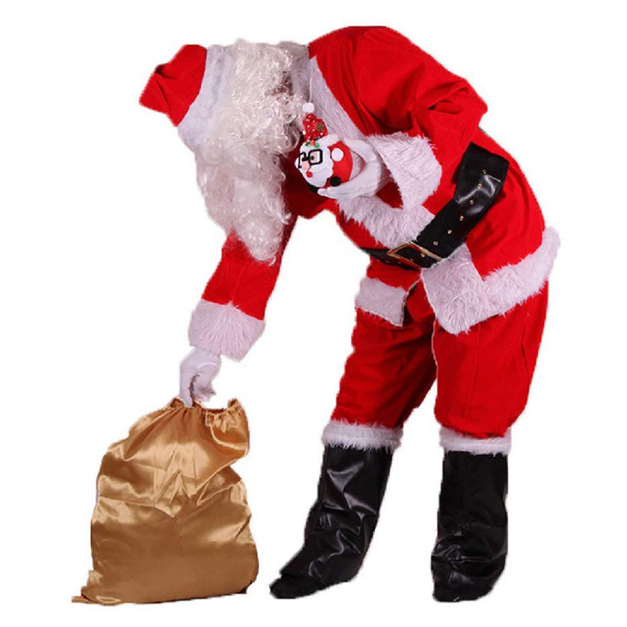 MH Zone Costume Simple Santa Suit