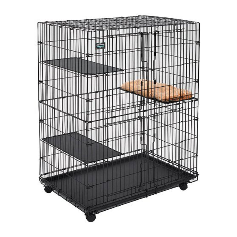 Midwest Wheeled Playpen Cat Cage