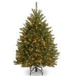 National Tree 4 1/2′ Dunhill Fir 450 Lights Xmas Tree