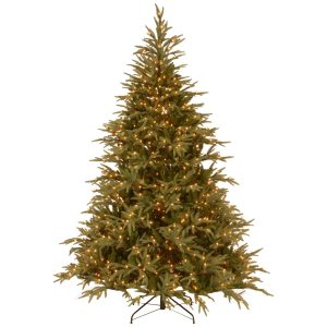 National Tree 7 1/2′ Frasier 1000 LED Lights Tree