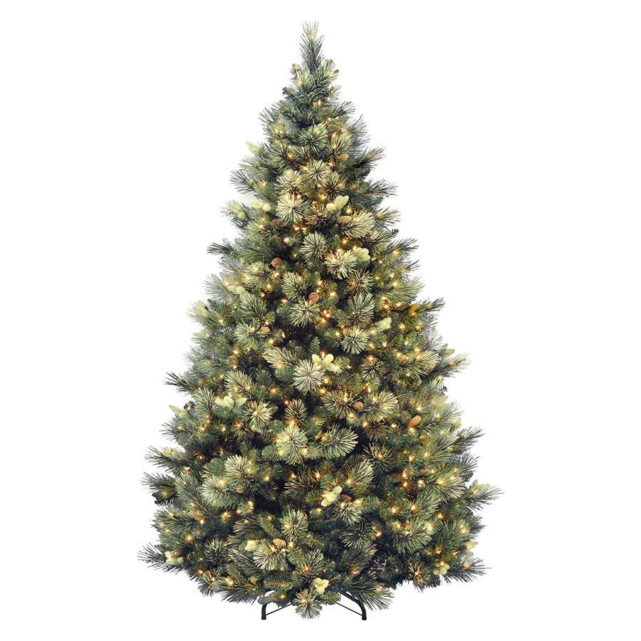 National Tree Carolina Pine Pre-lit Artificial Christmas Tree