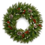 National Tree Frosted Berry Christmas Wreath