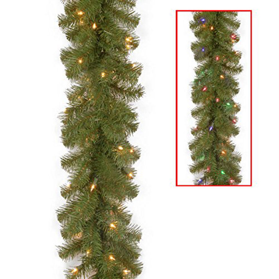 National Tree North Valley Spruce Christmas Garland