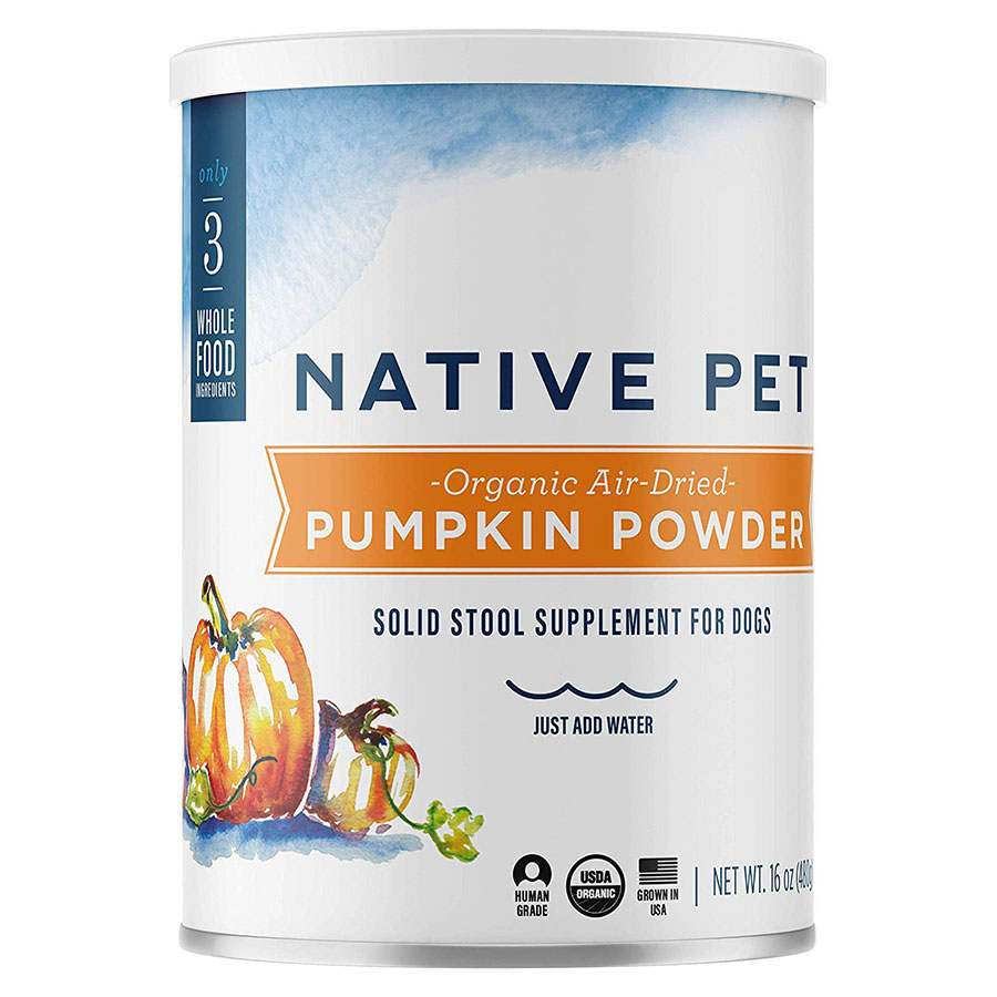 Native Pet Organic Pumpkin Fiber Dog Laxative