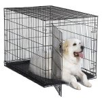 New World Folding Metal Single & Double Door Dog Crate