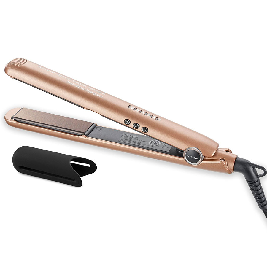 Nition Digital Pro Ceramic Tourmaline Flat Iron