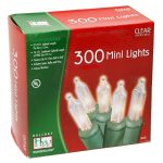 Noma/Inliten 300-Count Clear Christmas Lights