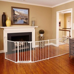 North States 3-in-1 Metal Superyard Dog Gate