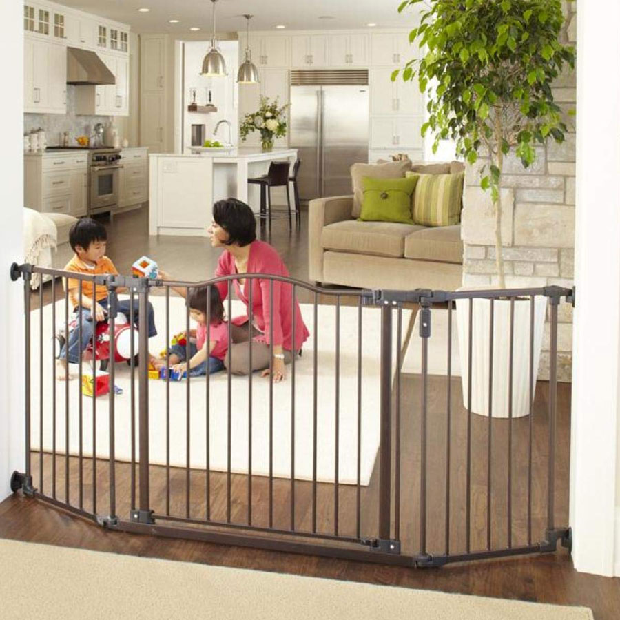 North States Deluxe Decor Safety Dog Gate