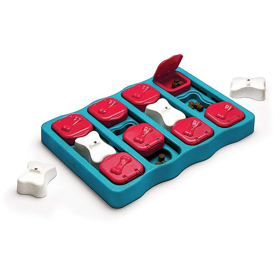 Outward Hound Nina Ottoson Brick Dog Interactive Toy