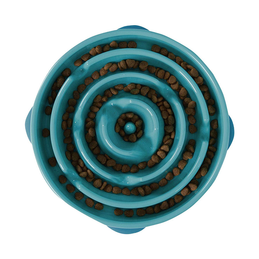 Outward Hound Slow Feed Interactive Dog Bowl