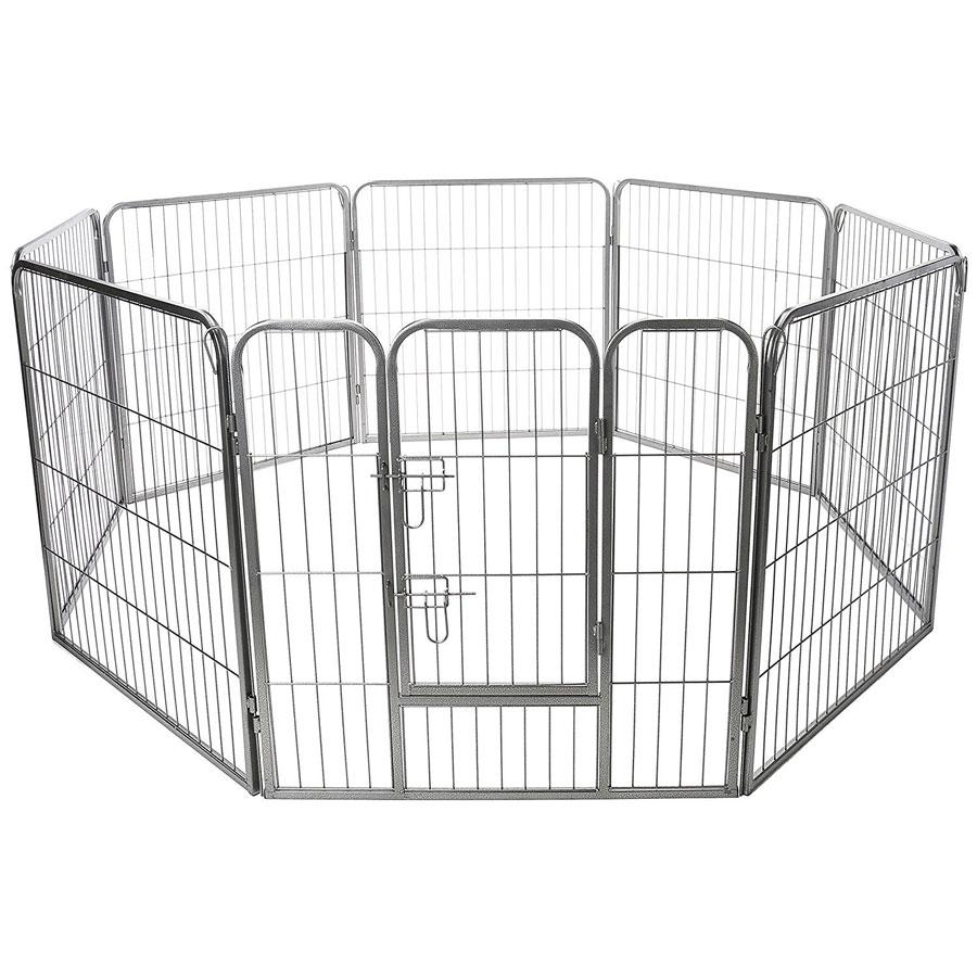 Oxgord 8-Panel Heavy-Duty Portable Dog Playpen