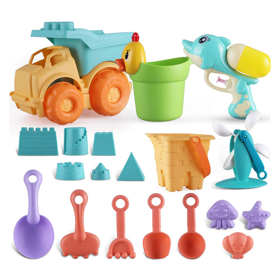Parts3A Soft Molds Bucket Fun Party Beach Toys