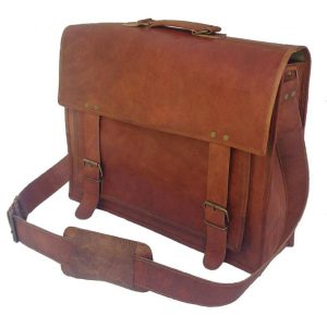 Passion Leather Handmade Leather Messenger Bag