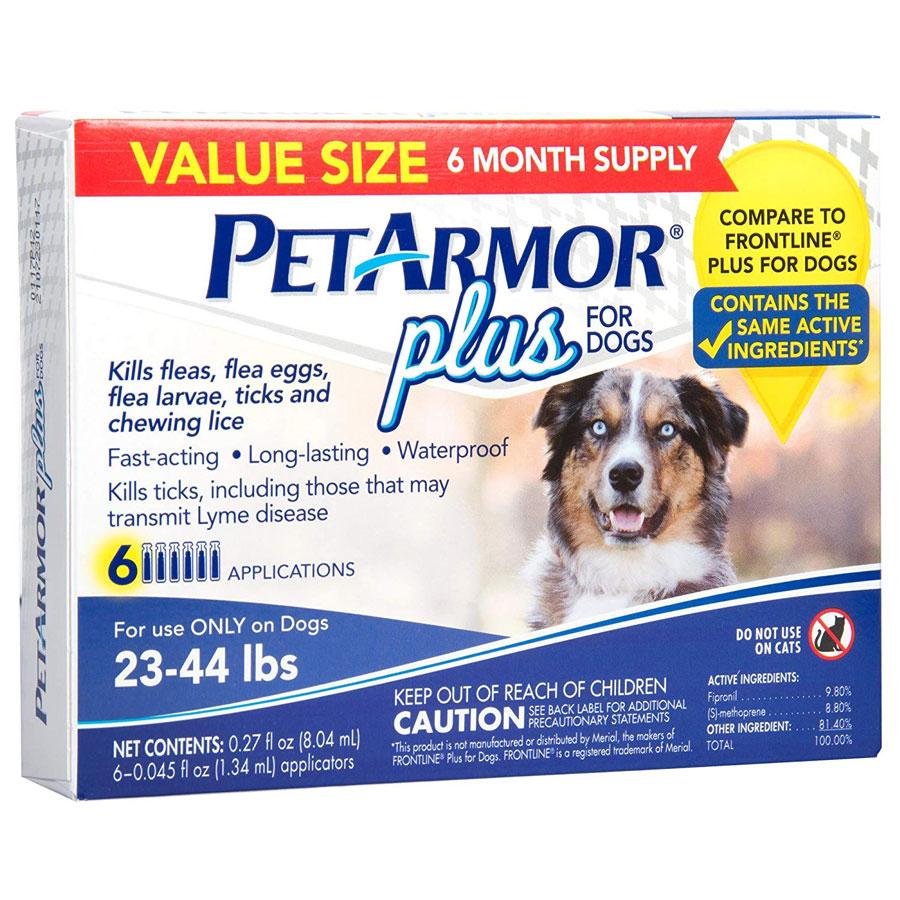 PetArmor Plus for Dogs Flea & Tick Squeeze-On