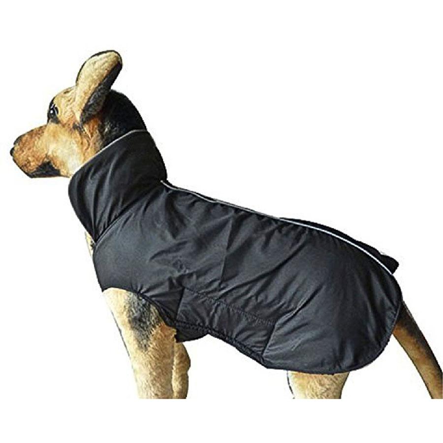 Petcee Waterproof Fleece Lined Dog Raincoat
