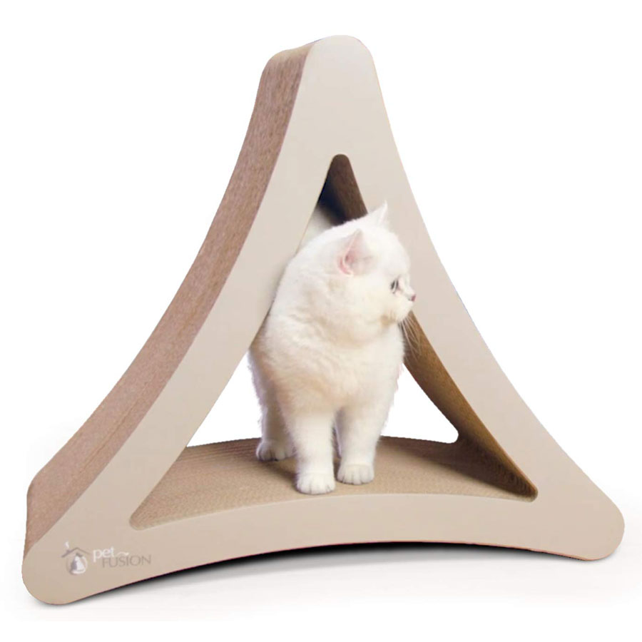 PetFusion 3-Sided Vertical Cat Scratching Pad