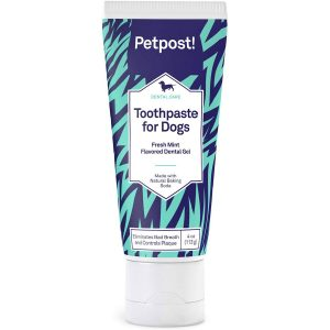 Petpost Coconut Oil Baking Soda Dog Toothpaste