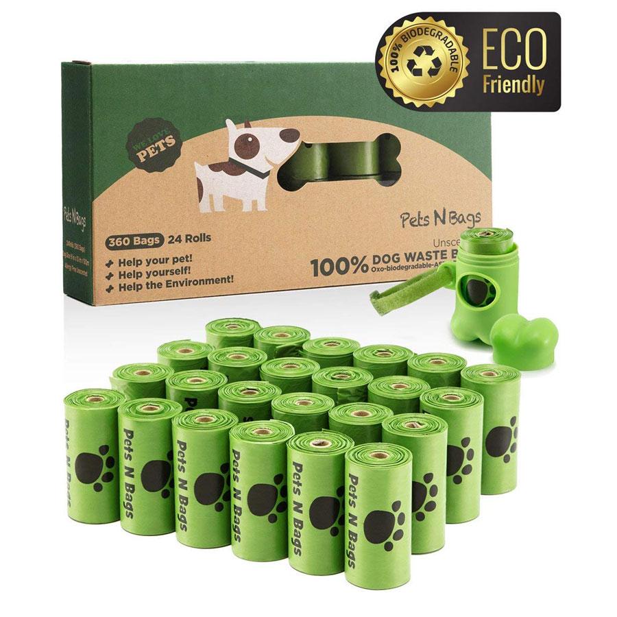 Pets N Bags Oxo-Biodegradable Dog Poop Bags