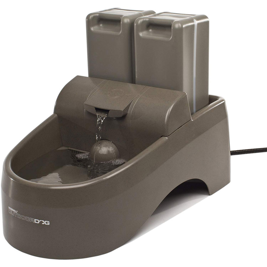 PetSafe Drinkwell Indoor Outdoor Dog Water Fountain