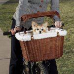 PetSafe Solvit Tagalong Wicker Dog Bike Carrier