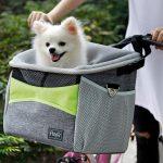 Petsfit Safety Basket Dog Bike Carrier