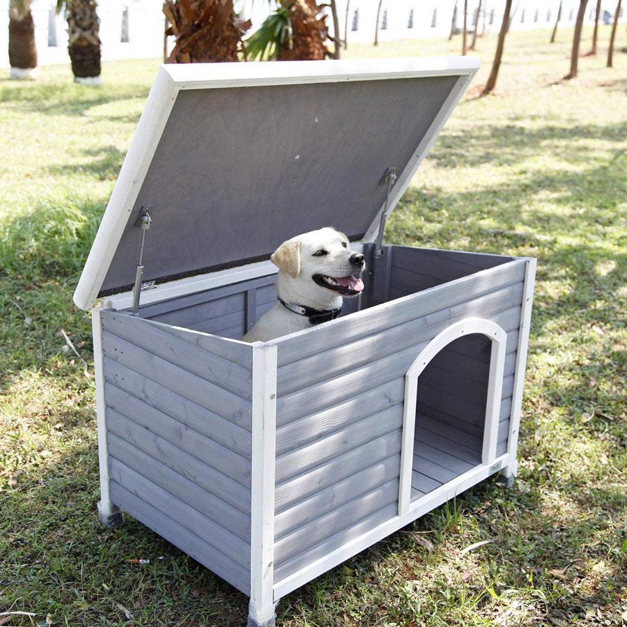 Petsfit Weatherproof Outdoor Dog House