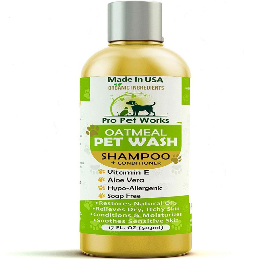 PPW All Natural Oatmeal Dog Shampoo