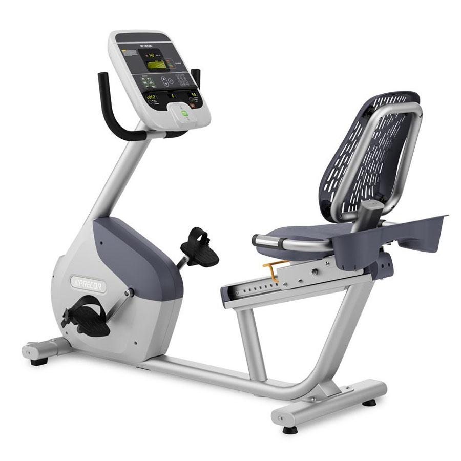 Precor RBK 615 Stationary Recumbent Exercise Bike