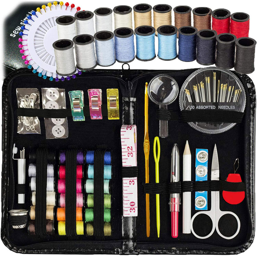Premium Supplies 38 Spools Sewing Kit