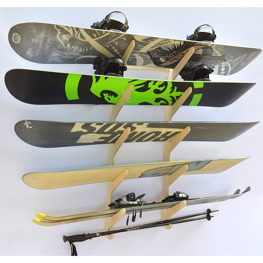Pro Board Racks Hanging Snowboard Wall Mount